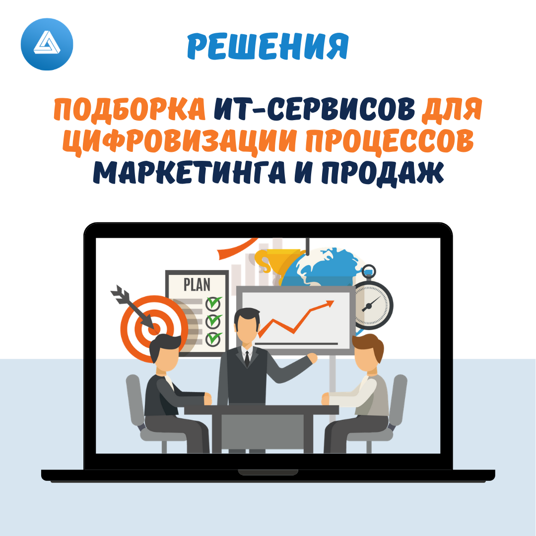 Подборка ИТ-сервисов для цифровизации процессов Маркетинга и Продаж, DeltaPlus.pro, Елена Шарапова